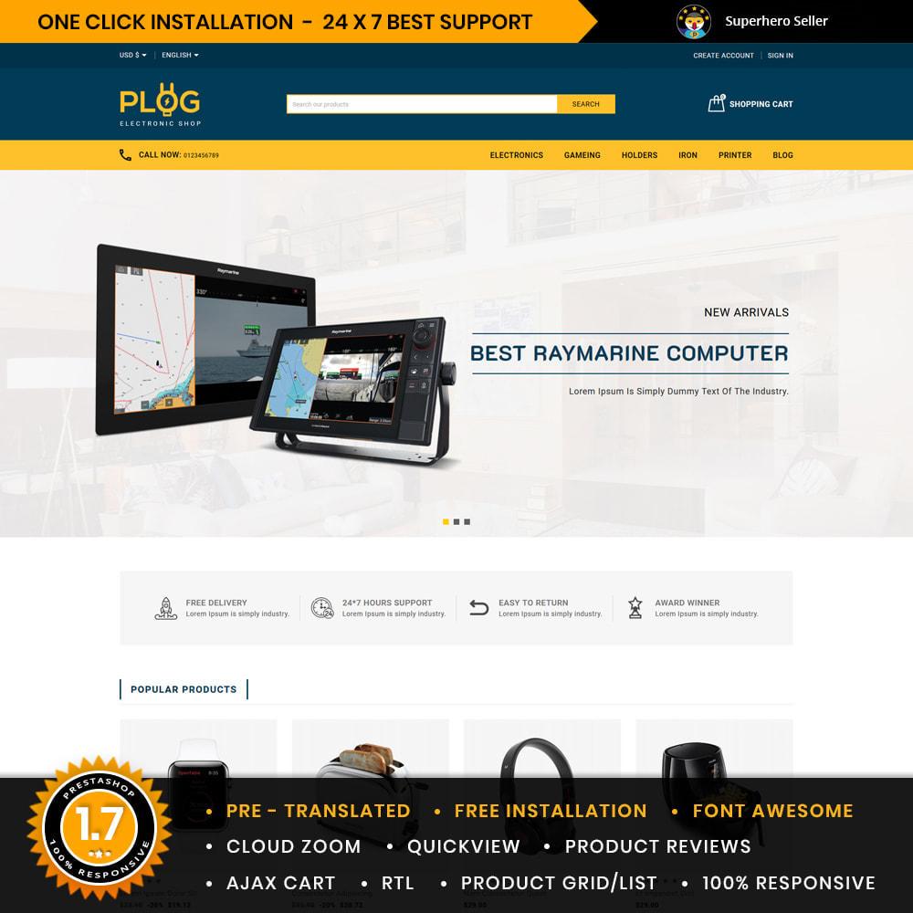 theme - Electronics & Computers - Plog Electronics & Computers Store - 1