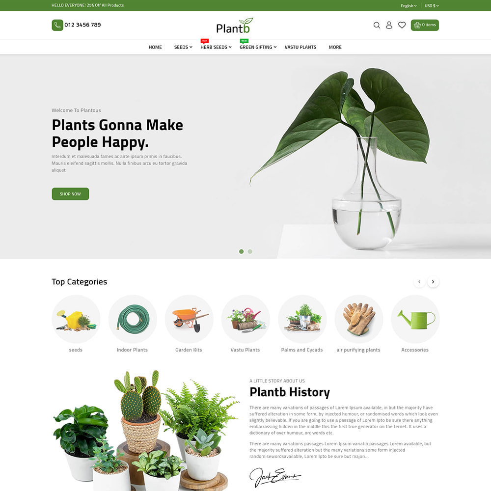 theme - Gifts, Flowers & Celebrations - PlantB - Gardening, HomeDecor & Houseplants Store - 4