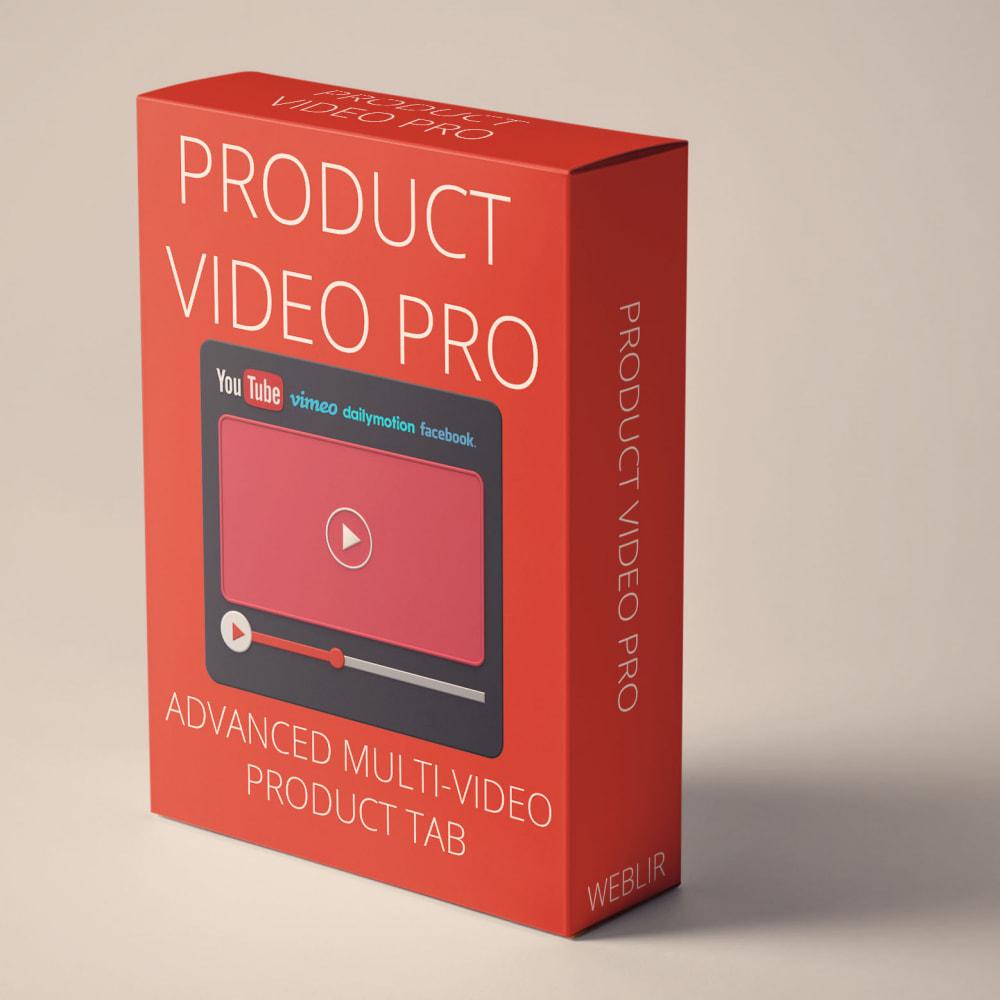 module - Vídeos y Música - Product video PRO - Multi-video product tab - 1