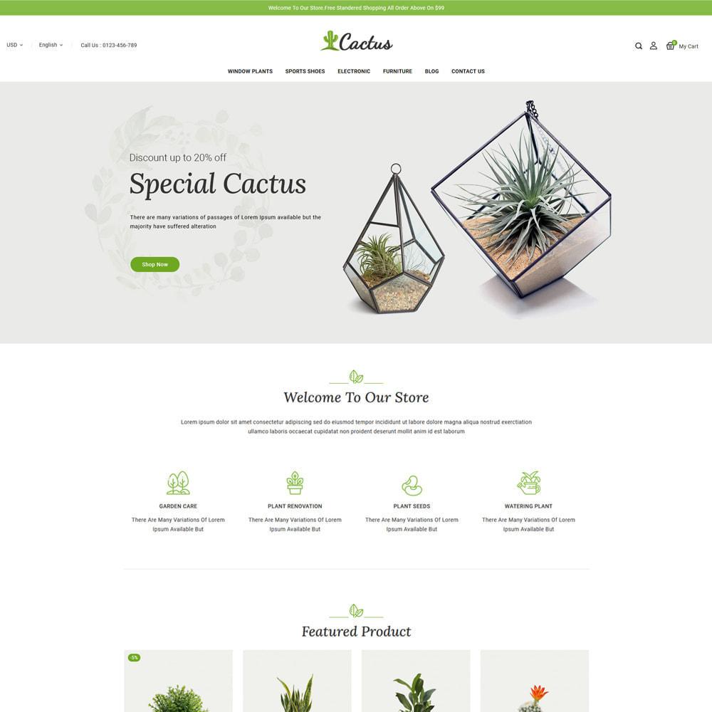 theme - Casa & Giardino - Cactus Plants & Garden Store - 2