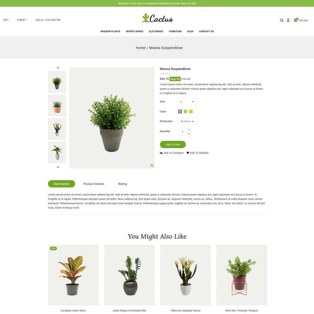 theme - Casa & Giardino - Cactus Plants & Garden Store - 4