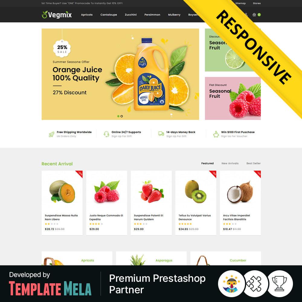 theme - Gastronomía y Restauración - Vegmix - Fruits & Vegetable Shop - 1