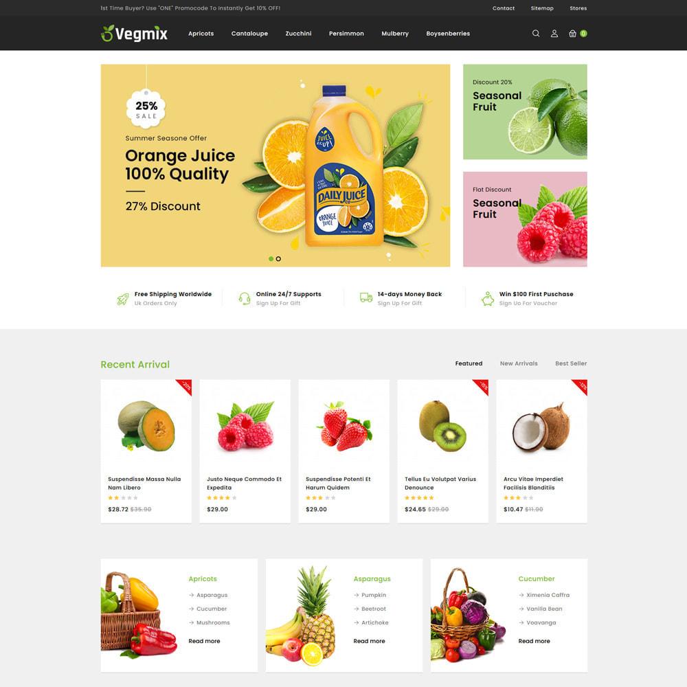 theme - Gastronomía y Restauración - Vegmix - Fruits & Vegetable Shop - 2