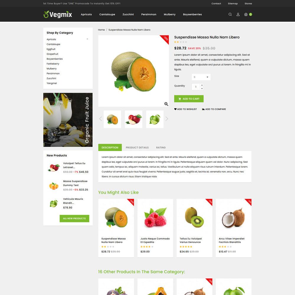 theme - Gastronomía y Restauración - Vegmix - Fruits & Vegetable Shop - 4