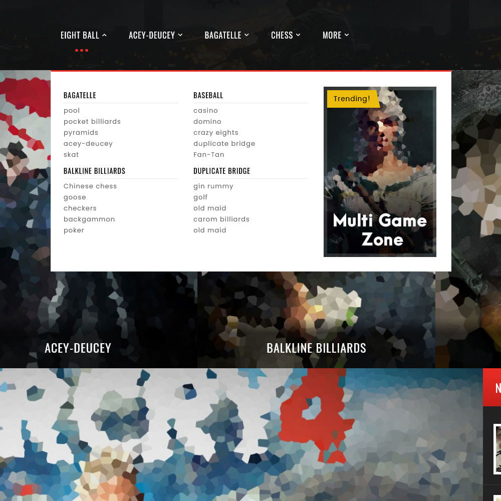 theme - Deportes, Actividades y Viajes - Game Zone, Music & Movies - 12