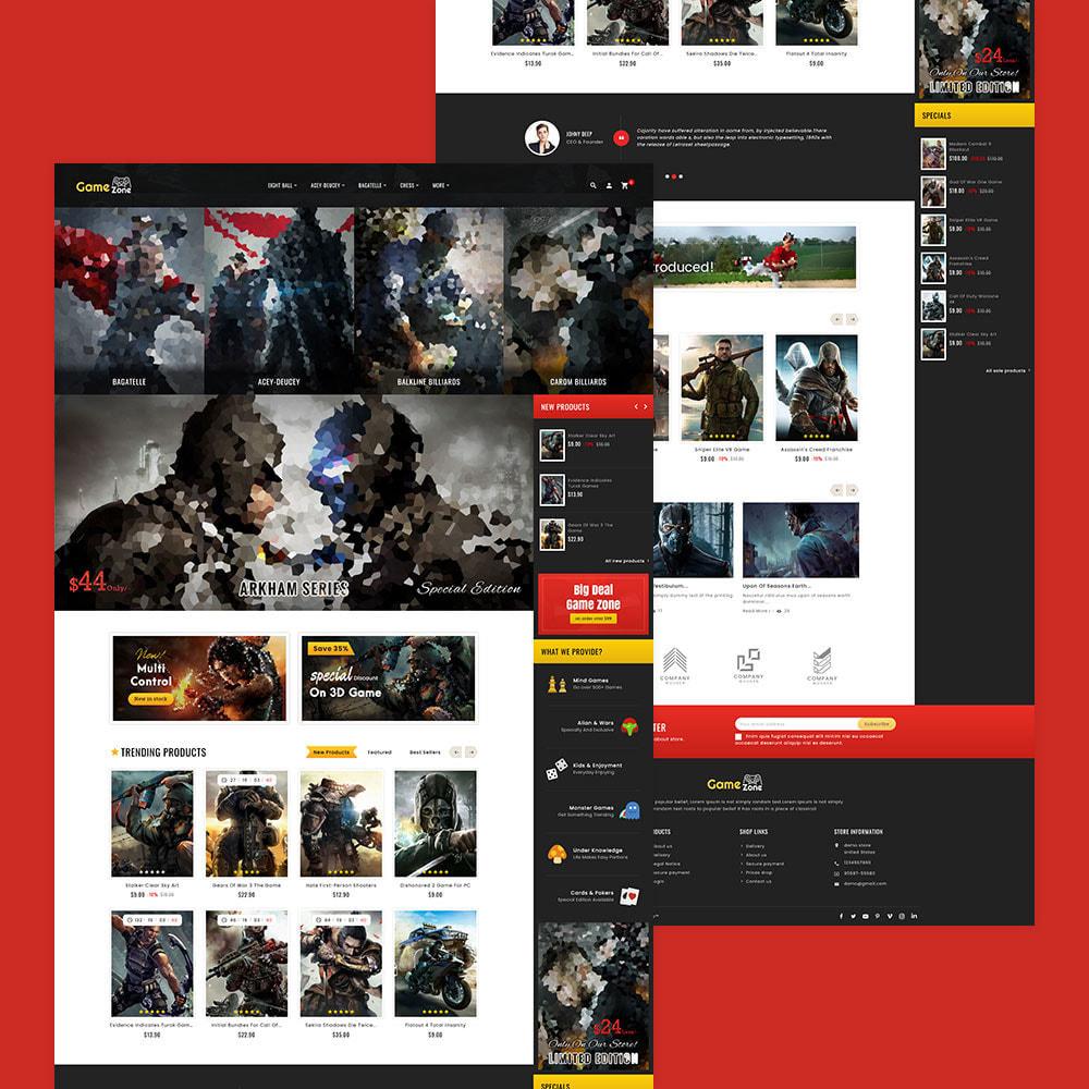 theme - Sport, Attività & Viaggi - Game Zone, Music & Movies - 3