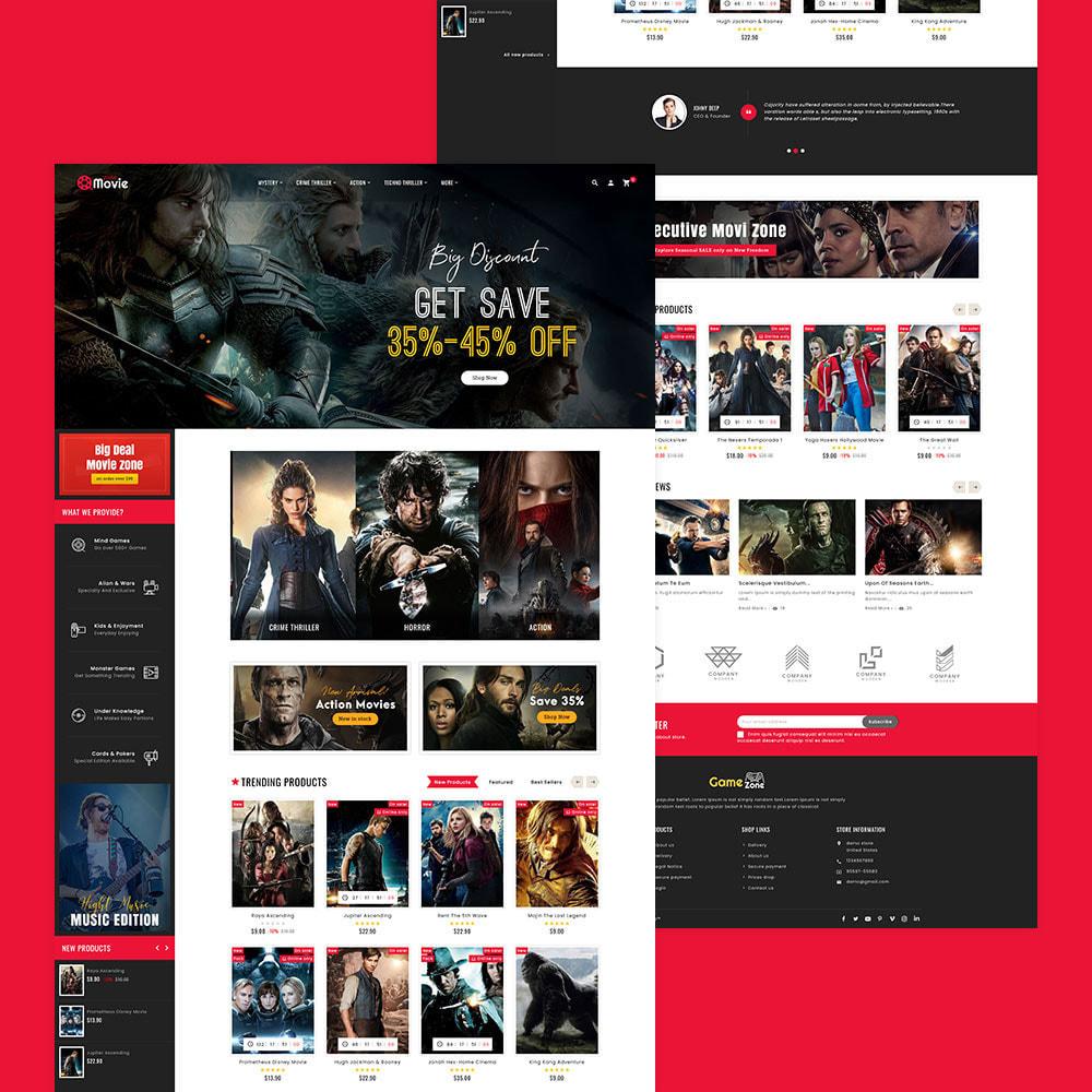 theme - Sport, Attività & Viaggi - Game Zone, Music & Movies - 5