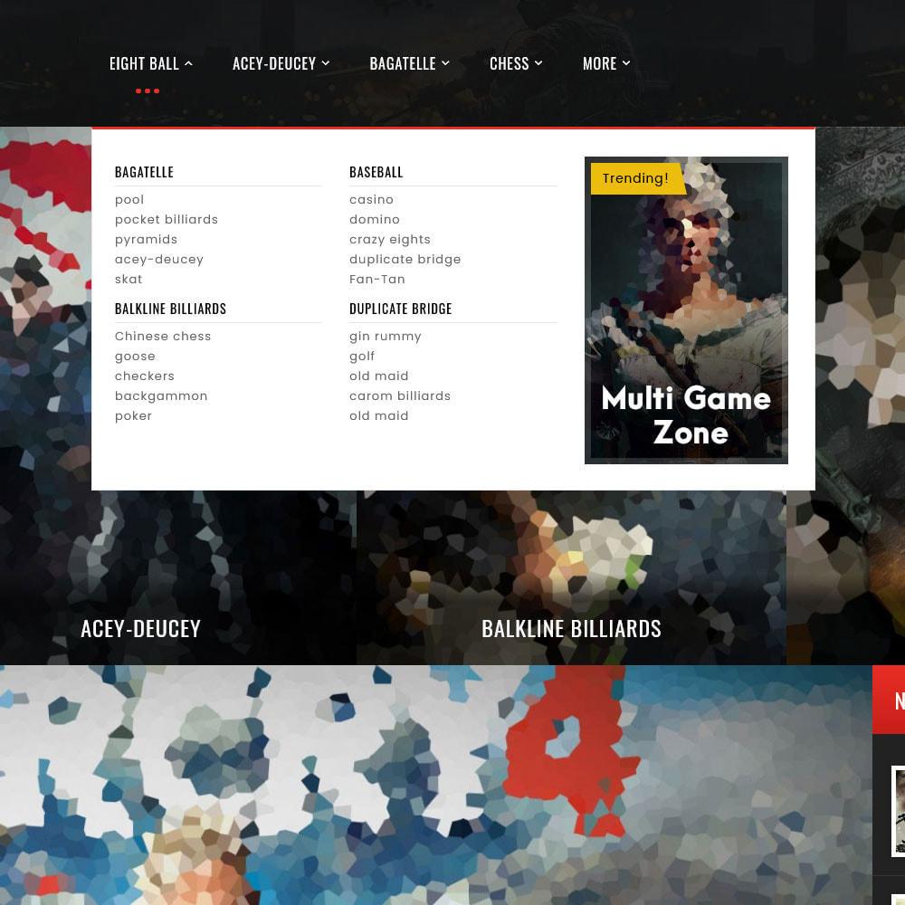 theme - Desporto, Actividades & Viagens - Game Zone, Music & Movies - 12