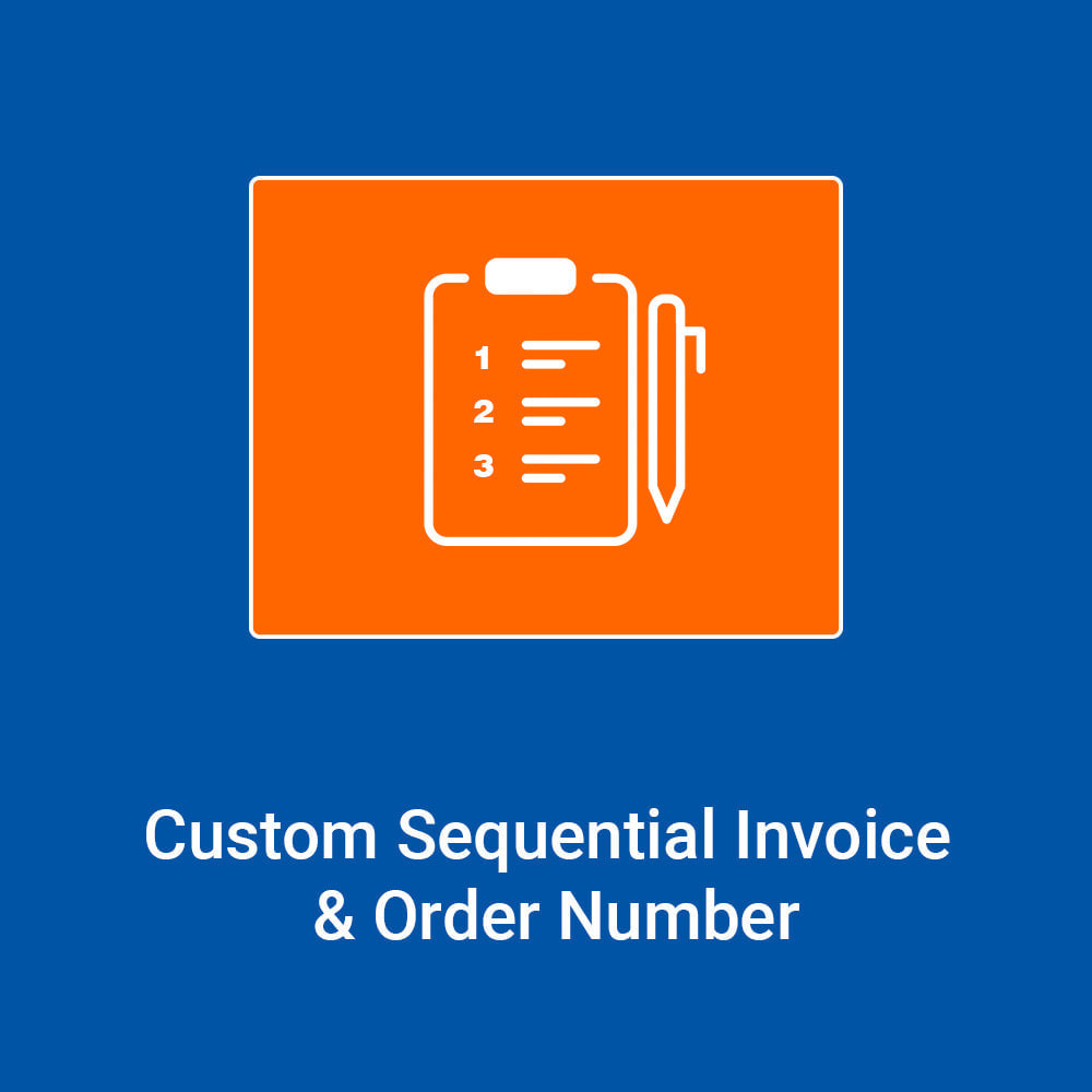 module - Boekhouding en fakturatie - Custom Sequential Order and Invoice Number - 1