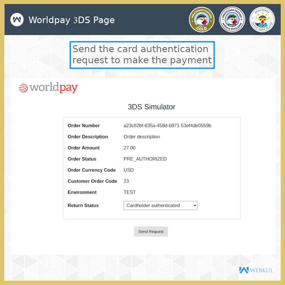 module - Pagamento con Carta di Credito o Wallet - Worldpay Payment Gateway - 3
