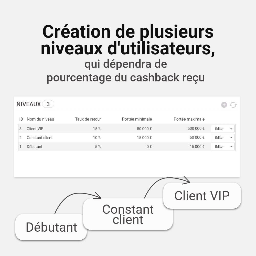 module - Fidélisation & Parrainage - Système de bonus cashback - 4