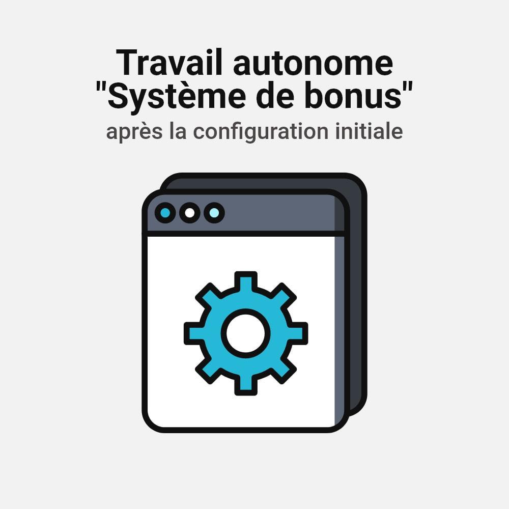 module - Fidélisation & Parrainage - Système de bonus cashback - 22