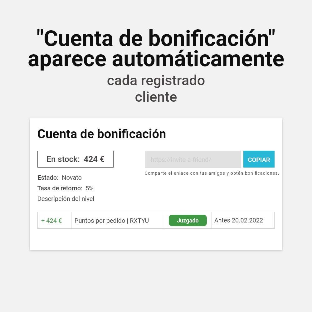module - Programa de Fidelidad - Sistema de devolución de bonificación - 2
