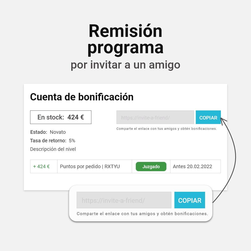 module - Programa de Fidelidad - Sistema de devolución de bonificación - 10