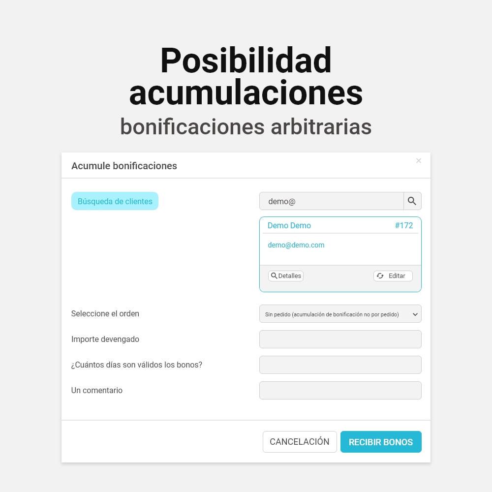 module - Programa de Fidelidad - Sistema de devolución de bonificación - 14