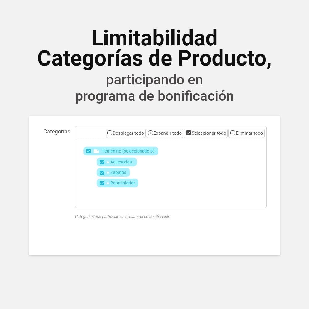 module - Programa de Fidelidad - Sistema de devolución de bonificación - 15