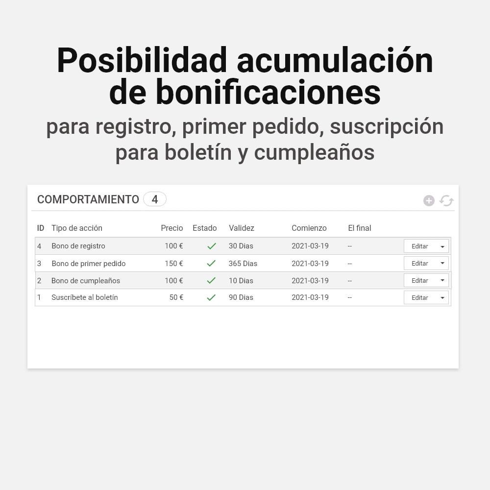 module - Programa de Fidelidad - Sistema de devolución de bonificación - 16