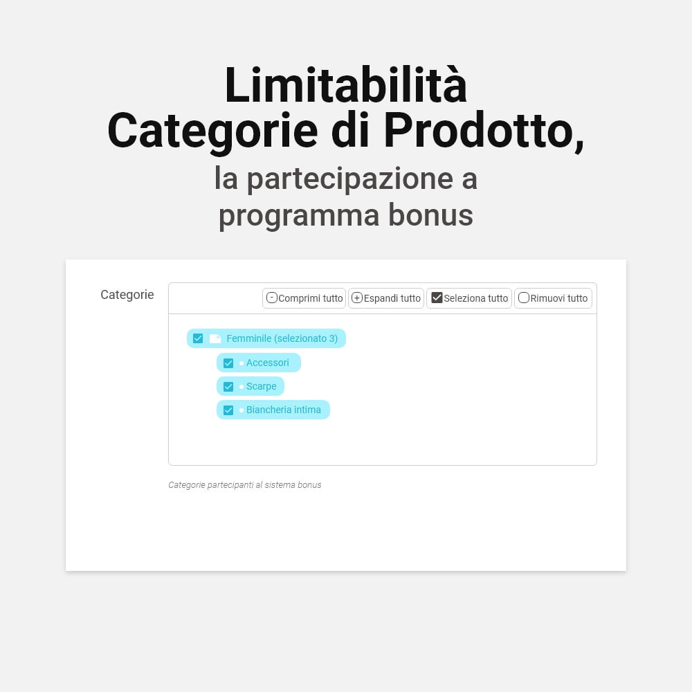 module - Programmi fedeltà & Affiliazione - Sistema bonus cashback - 15