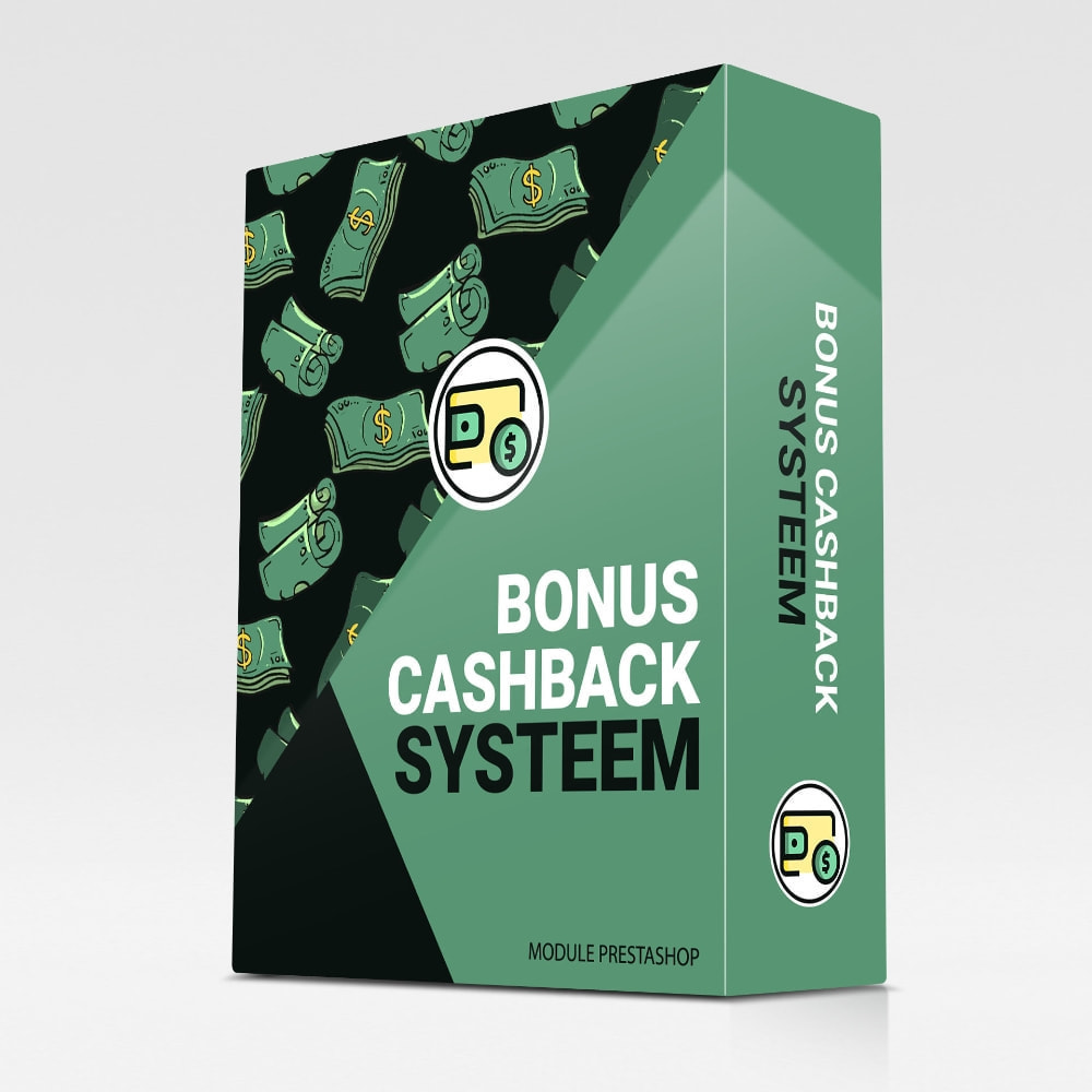 module - Loyaliteitsprogramma - Bonus cashback systeem - 1