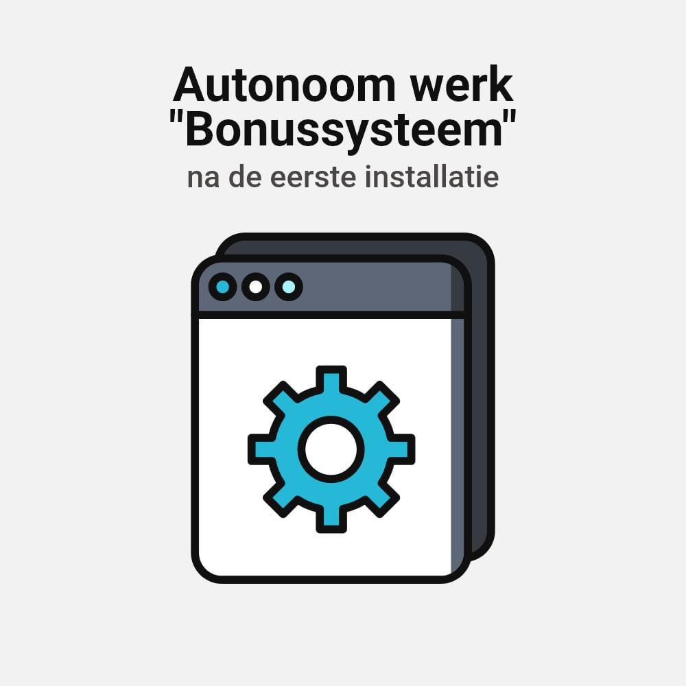 module - Loyaliteitsprogramma - Bonus cashback systeem - 18