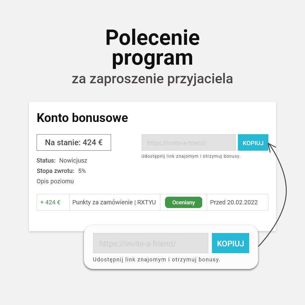 module - Lojalność & Rekomendowanie - System bonusów cashback - 10
