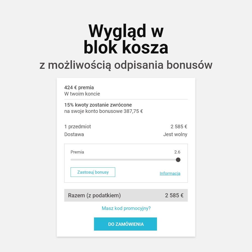 module - Lojalność & Rekomendowanie - System bonusów cashback - 11
