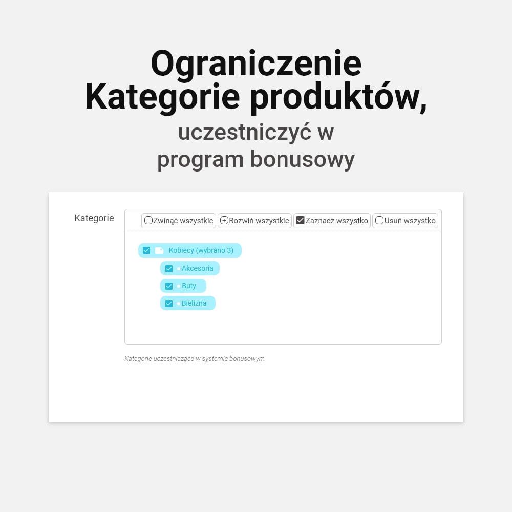module - Lojalność & Rekomendowanie - System bonusów cashback - 15