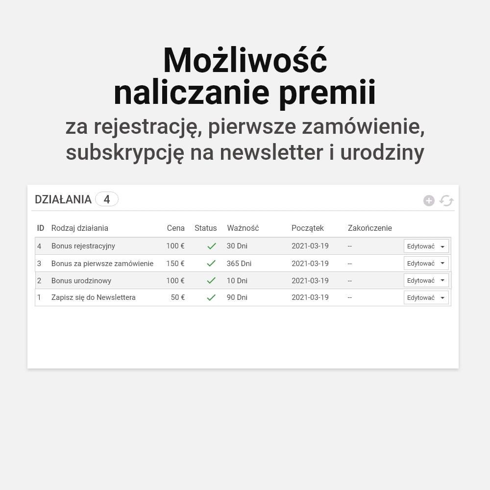 module - Lojalność & Rekomendowanie - System bonusów cashback - 16
