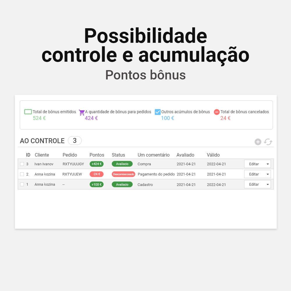 module - Fidelização & Apadrinhamento - Sistema de cashback bônus - 6