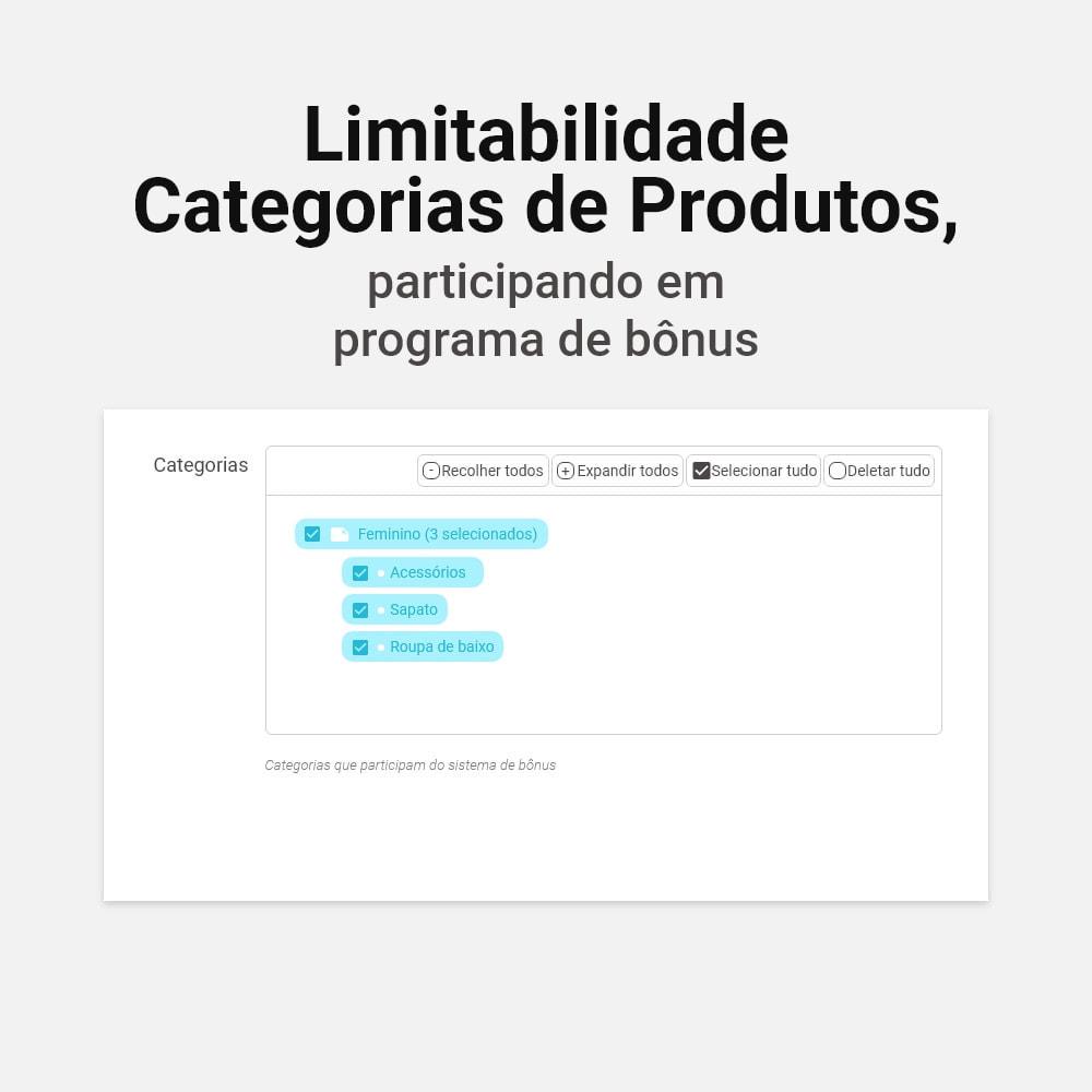 module - Fidelização & Apadrinhamento - Sistema de cashback bônus - 15