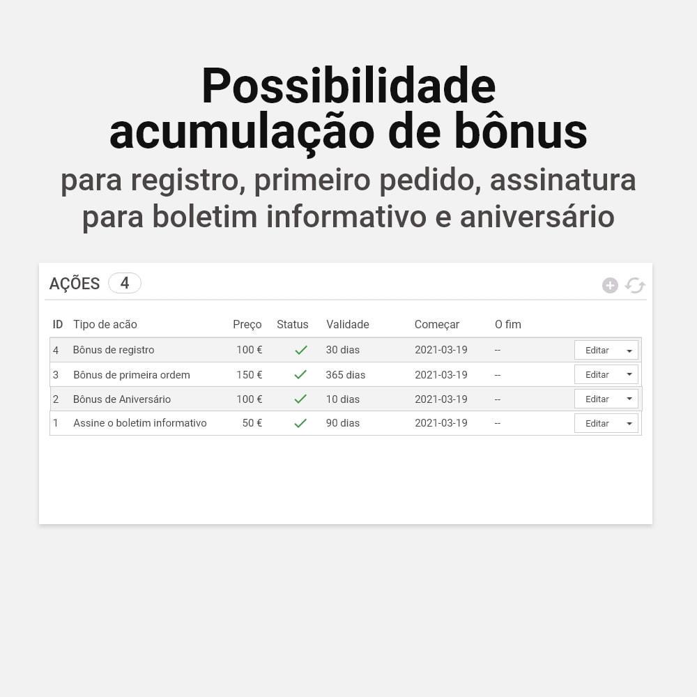 module - Fidelização & Apadrinhamento - Sistema de cashback bônus - 16