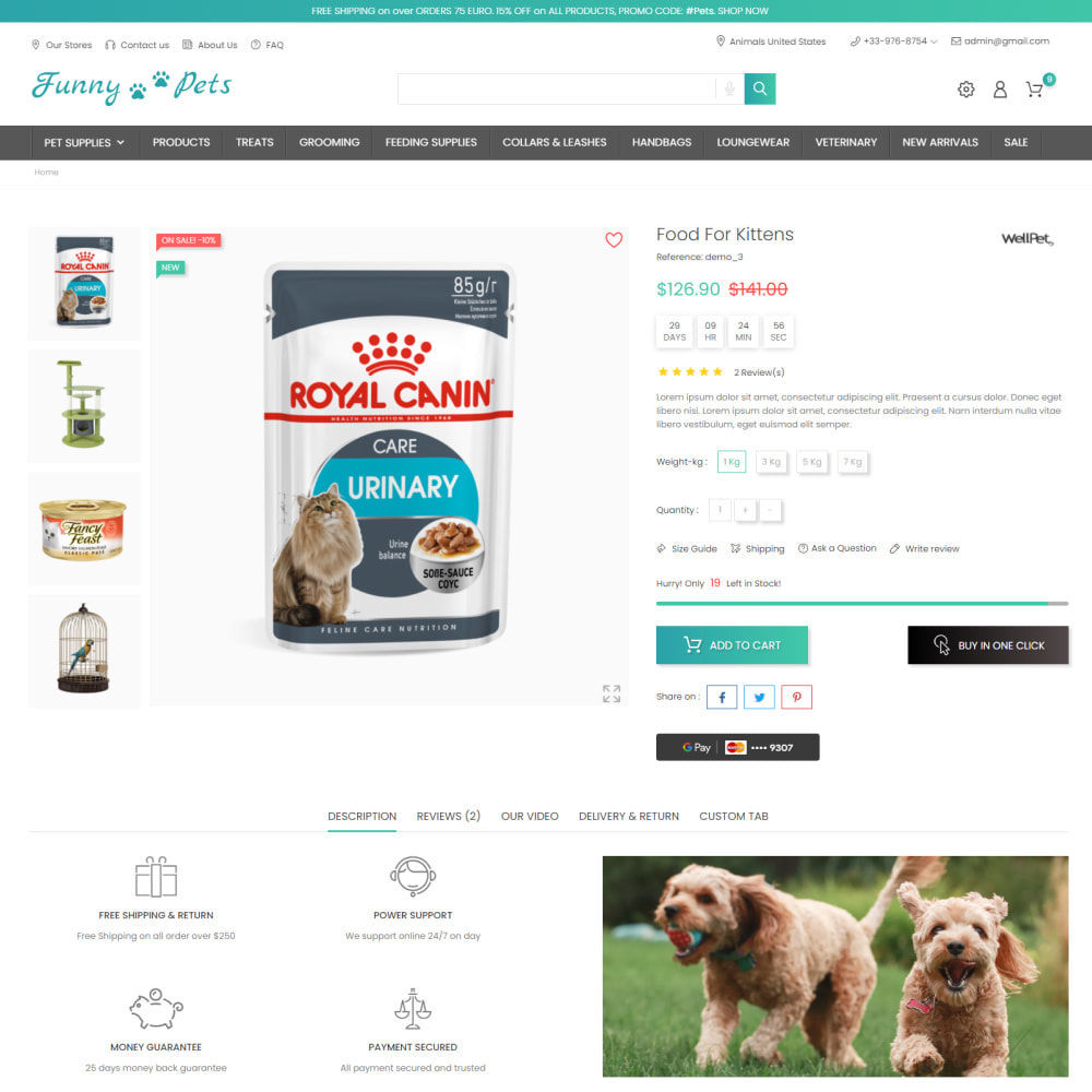 theme - Zwierzęta - Animals & Food - Pets Care, Clothes, Toys - 5