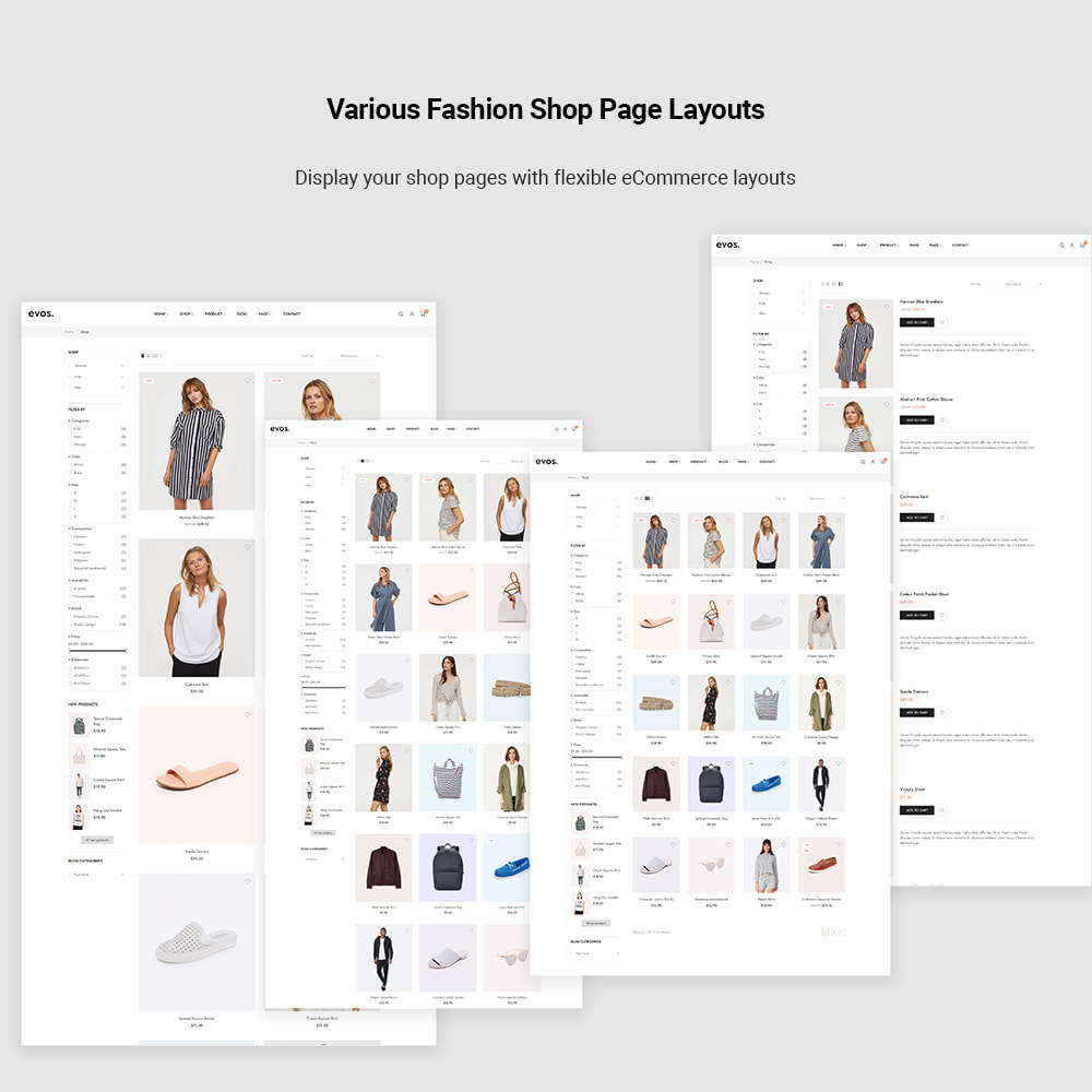 theme - Fashion & Shoes - Evo Elementor - Fashion Store - 5