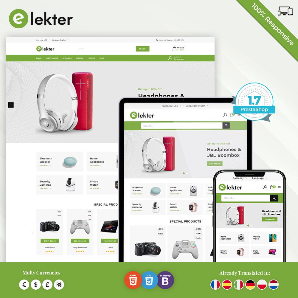 theme - Электроника и компьютеры - Electer - Магазин электроники - 1