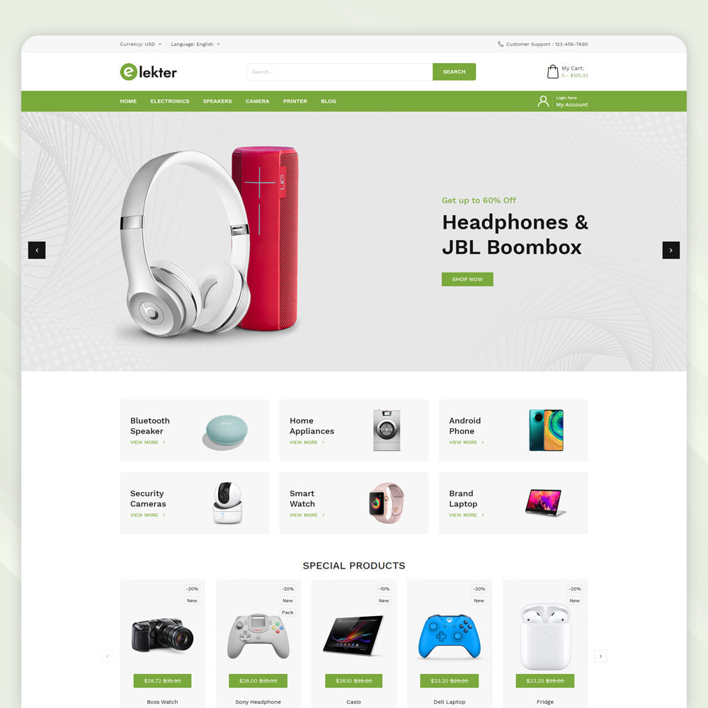 theme - Electronics & Computers - Electer - Electronics Store - 2