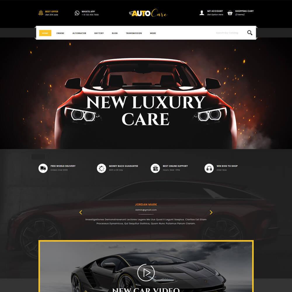 theme - Coches y Motos - Autocare - Auto Store - 2