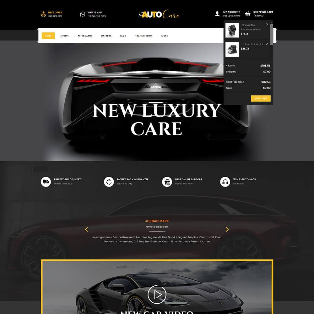theme - Coches y Motos - Autocare - Auto Store - 4