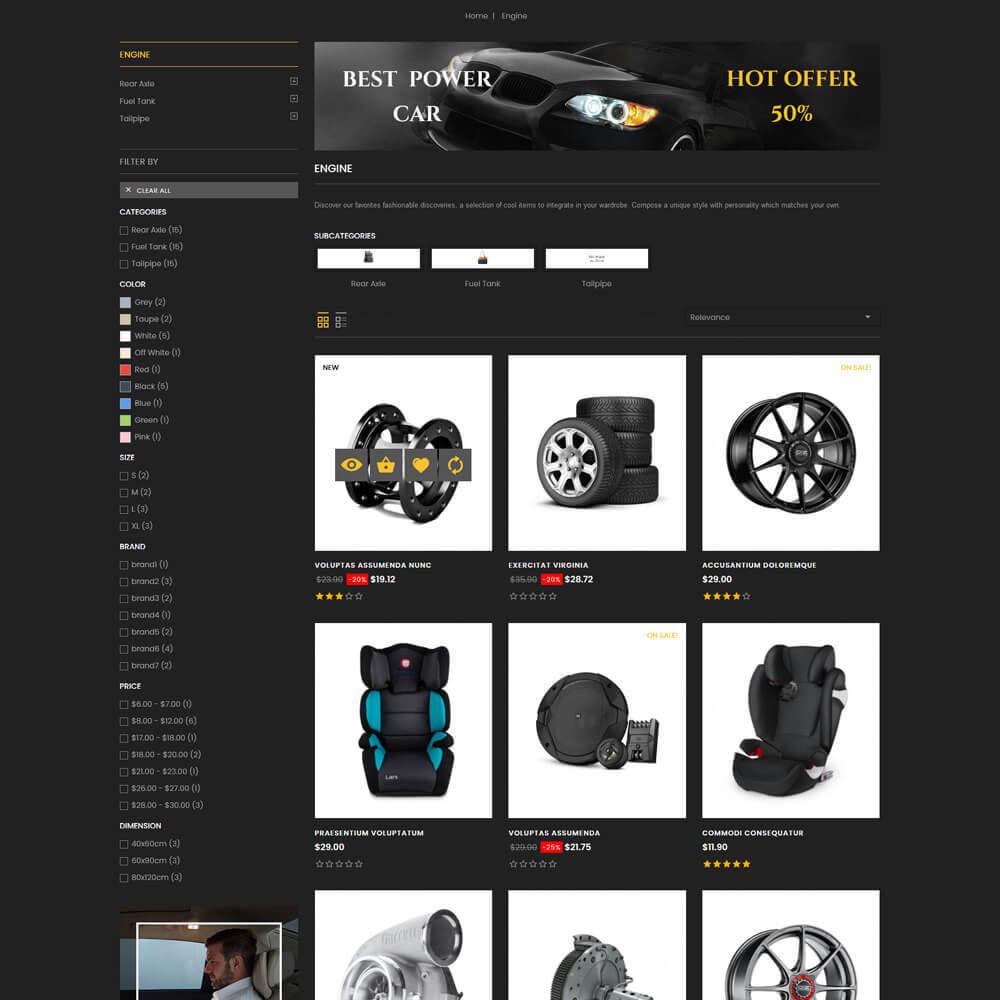 theme - Coches y Motos - Autocare - Auto Store - 5