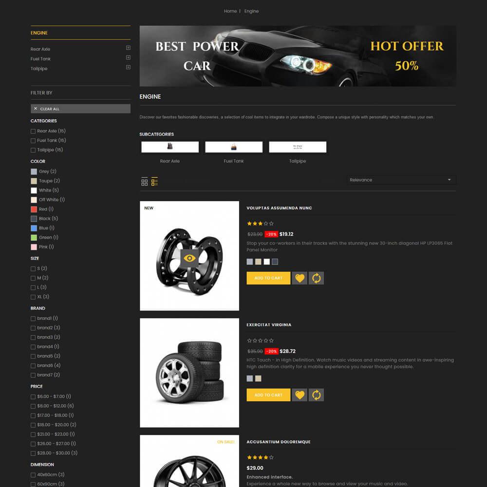 theme - Coches y Motos - Autocare - Auto Store - 6
