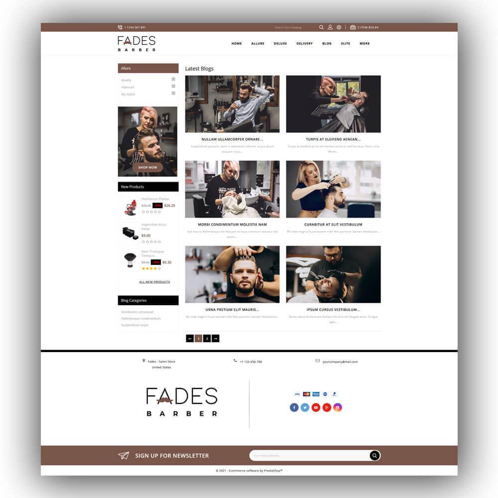 theme - Health & Beauty - Fades - Salon Store - 8