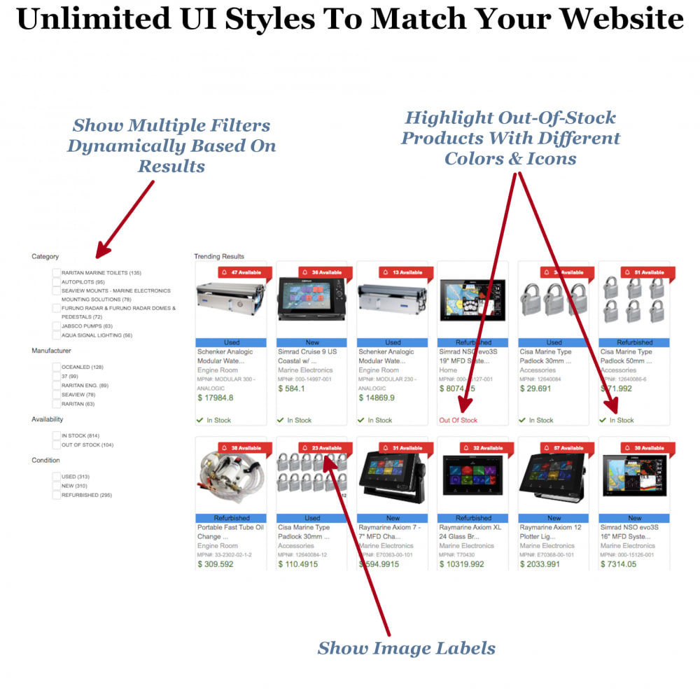 module - Recherche & Filtres - Instant Search & Filters - 4