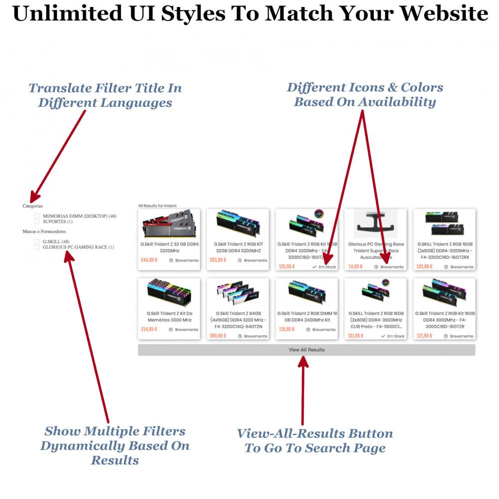 module - Recherche & Filtres - Instant Search & Filters - 6