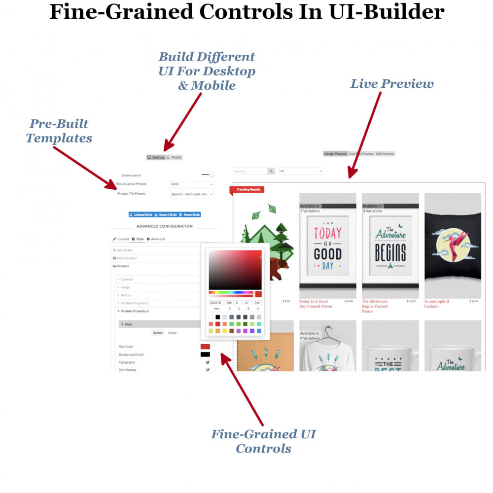 module - Recherche & Filtres - Instant Search & Filters - 8
