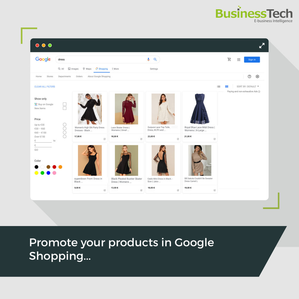 module - Preisvergleiche - Google Merchant Center (Google-Shopping) - 1