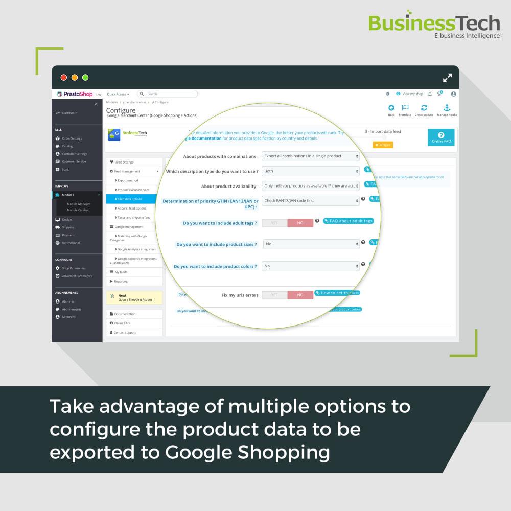 module - Preisvergleiche - Google Merchant Center (Google-Shopping) - 5