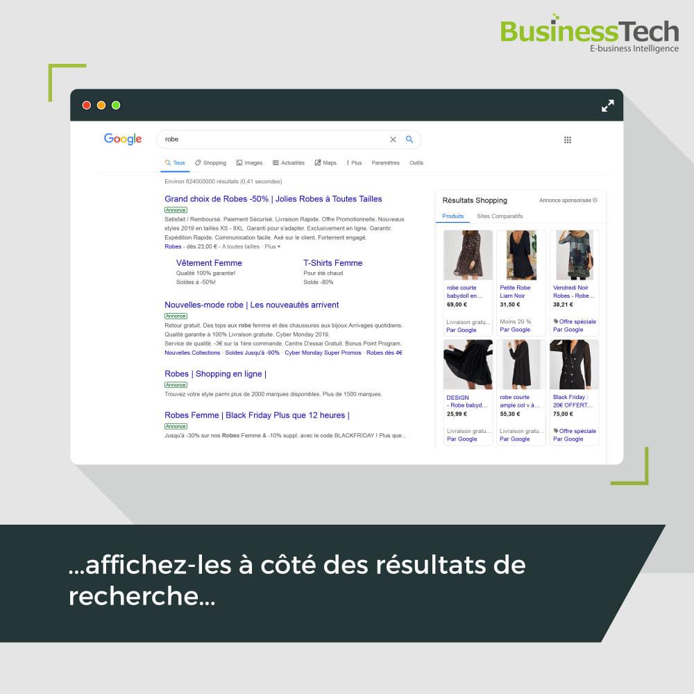 module - Comparateurs de prix - Google Merchant Center (Google-Shopping) - 3