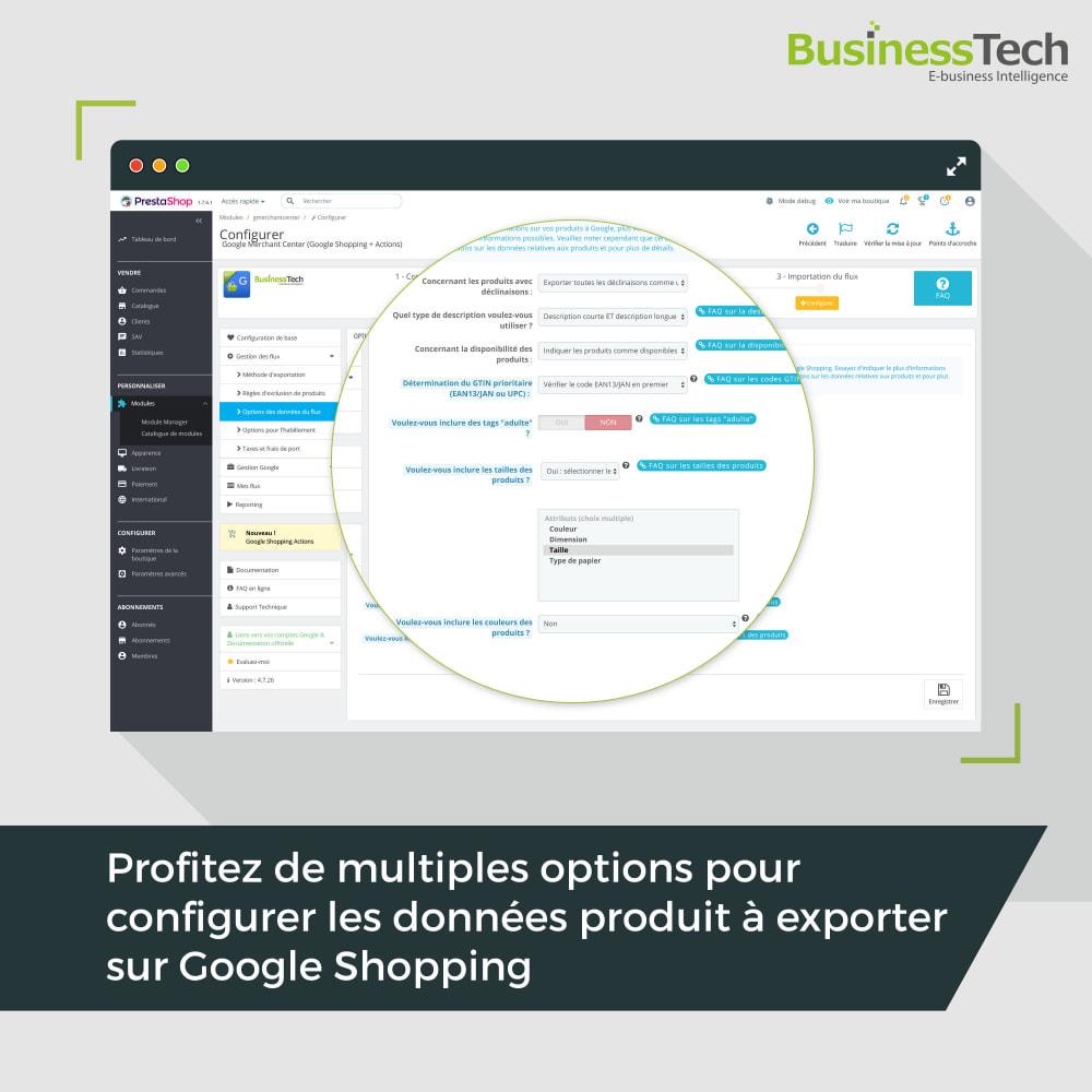 module - Comparateurs de prix - Google Merchant Center (Google-Shopping) - 5