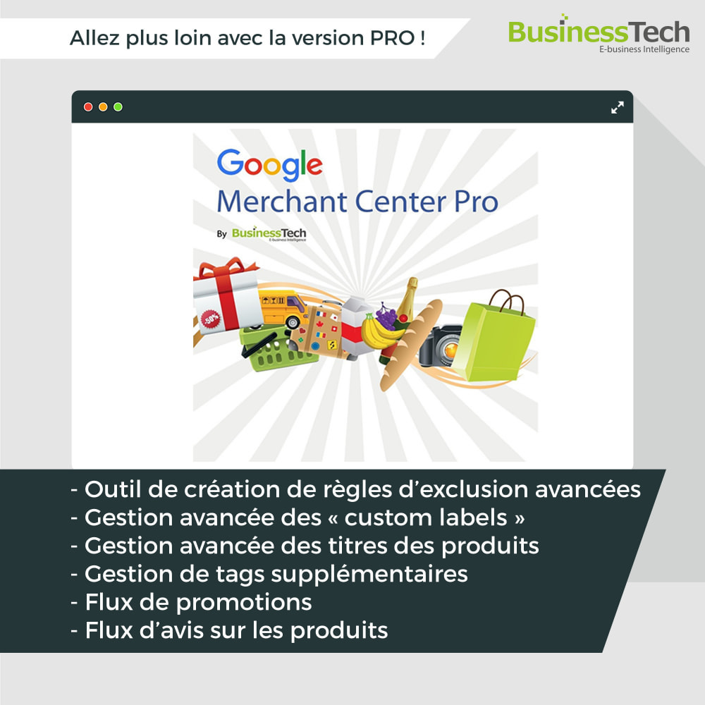module - Comparateurs de prix - Google Merchant Center (Google-Shopping) - 10