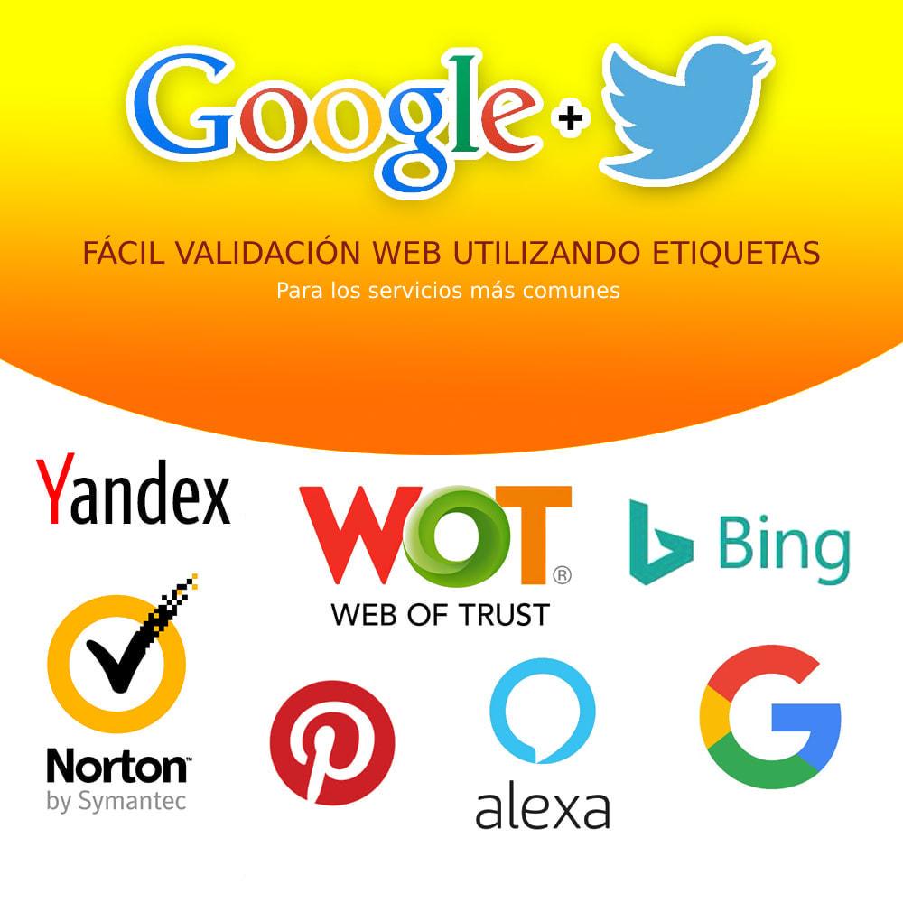 module - SEO (Posicionamiento en buscadores) - Google Rich Snippets (Cards) LD + JSON + Twitter - 2