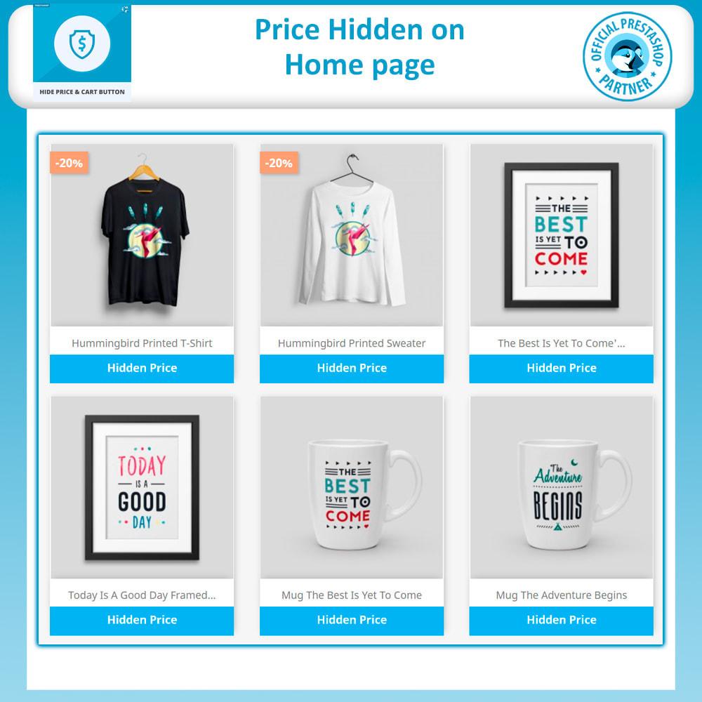 module - Gestione Prezzi - Hide Price & Hide Add to Cart Button - 2